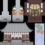 お墓とお仏壇の違いって何?
